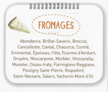 Fromages d'automne